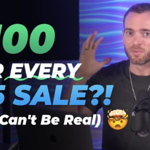The $100/Day Affiliate Program for Beginners | NOT Clickbank or Clickfunnels
