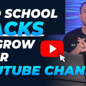 3 Old School Marketing Hacks I Used to Grow My YouTube Channel (4K Per Month)