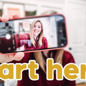 How to Start a YouTube Channel on a BUDGET | The cheapest, easiest way to get started on YouTube