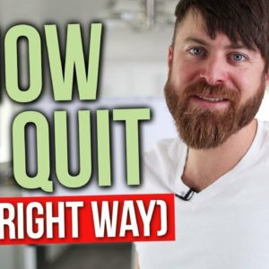 How To Gracefully Quit A Job You Hate