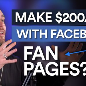 Make Money Online With Facebook Fan Pages [$200 a Day]