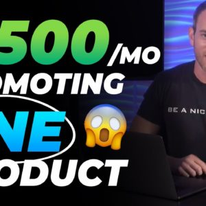 PASSIVE $1500/Month Selling ONE Product | Make Money Online With Recurring Commissions