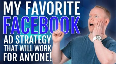 The Facebook Advertising Strategy That Can Work For ANYONE ✅