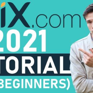 Wix Tutorial 2021(Full Tutorial For Beginners) - Create A Professional Website