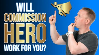 Commission Hero 🦸♂️ - Will It Work For YOU? 👇💰