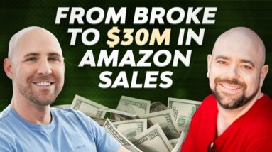 He Lost His Job... Then Went On To Do $30 MILLION In Amazon Sales 🤩