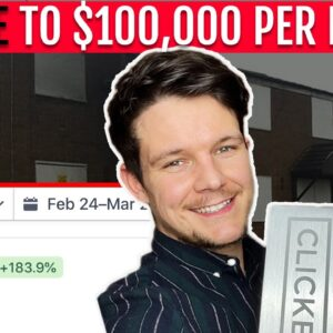 How I went from BROKE to $100,000 per month | My Story
