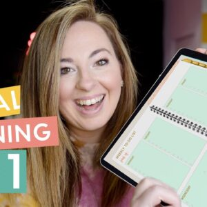 NEW to Digital Planning? How to get started with a DIGITAL PLANNER!