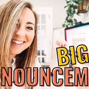 ARE YOU READY FOR THIS? A big announcement!