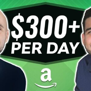 How He Makes $300 Per Day Selling On Amazon