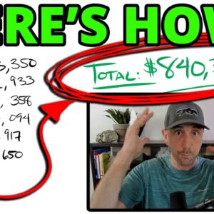 The $840,302 Secret Revealed!  This Video Will Self Destruct In 3 Days