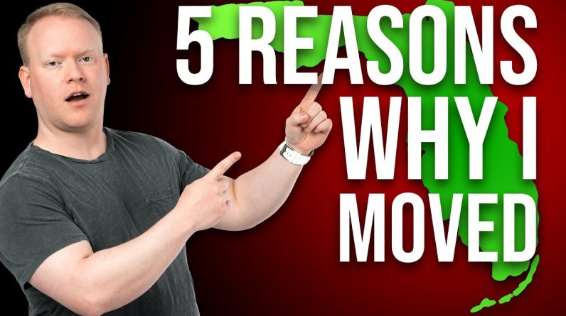 5 Reasons Why I Moved Myself & My Businesses To Florida ☀�💰
